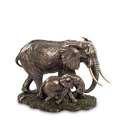 """Статуэтка """"Слон с детенышем"""""""