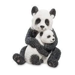 """Статуэтка """"Панда с детенышем"""""""