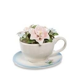 """Композиция чаша """"Весенние цветы"""""""