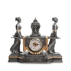 """Часы в стиле барокко """"Уходящее время"""""""