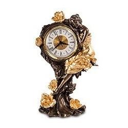 """Часы """"Девушка и розы"""""""