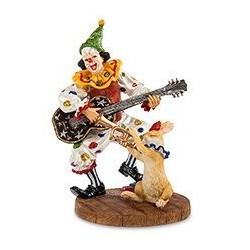 """Статуэтка """"Клоун с гитарой"""""""