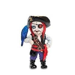 """Статуэтка в стиле Фэнтези """"Капитан пиратов и его попугай"""""""