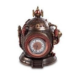 """Шкатулка с часами в стиле Стимпанк """"Машина времени"""""""
