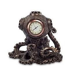 """Статуэтка-часы в стиле Стимпанк """"Осьминог"""""""