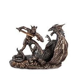 "Статуэтка ""Зигфрид, побеждающий Дракона"""