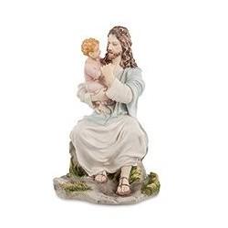 """Статуэтка """"Иисус с ребенком"""""""