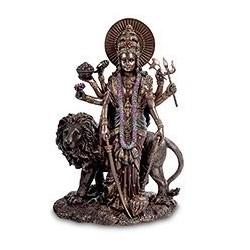 """Статуэтка """"Богиня Дурга - защитница богов и мирового порядка"""""""