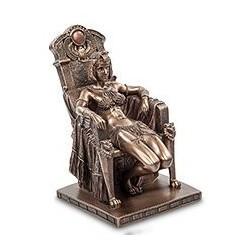 """Статуэтка """"Клеопатра на троне"""""""