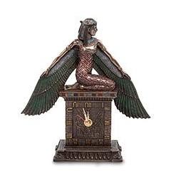 """Часы """"Исида - богиня материнства и плодородия"""""""