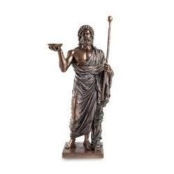 """Статуэтка """"Асклепий - бог медицины и врачевания"""""""