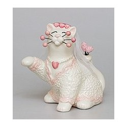 """Фигурка """"Кошка Невеста"""""""