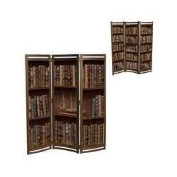 Ширма 3-х створчатая 2 стороны Книги