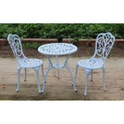 Комплект Romance (стол + 2 стула) белый