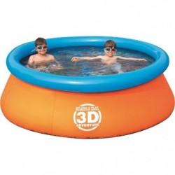 """BW Бассейн надувной """"Приключение"""", с 3D рисунком, 213 х 66 см, стерео-очки, 2 шт"""