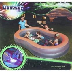 "BW Бассейн ""Неон"", с флуоресцентным дном, 280 х 157 х 46 см"
