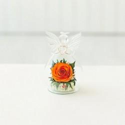 Мини и оригинальные в вазе формы ангела с сердцем