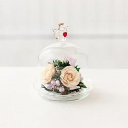 Мини и оригинальные в вазе формы капкейка с ангелом