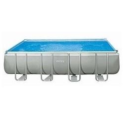 Каркасный бассейн Ultra Frame 732x366x132см, 31805л, ком.фил.-нас, лест, тент, подс, наб.д/чис, волейб.  (28366)