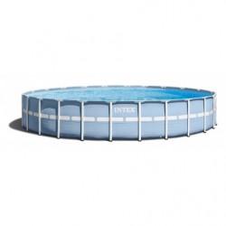 Каркасный бассейн Prism Frame 732x132 см, 47241л,  фильтр-насос 9463л/ч, лестница, тент, подстилка (28762)