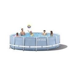 Каркасный бассейн Prism Frame 549x122 см, 24311л,  фильтр-насос 5678л/ч, лестница, тент, подстилка( 28752)