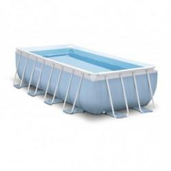 Каркасный бассейн Prism Frame 400х200х100 см, 6836 л, фильтр-насос 2006л/ч, лестница (28316)
