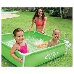 Каркасный бассейн Mini Frame 122х122х30см, 337л (57172)