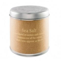 Морская соль Свеча в металле
