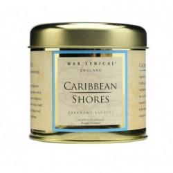 Побережье Карибского моря свеча в металле