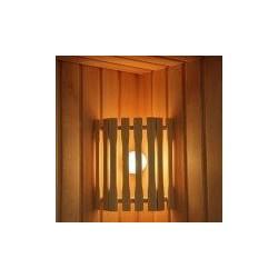 Абажур угловой деревянный АУД