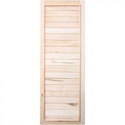 Дверь деревянная Вагонка эконом