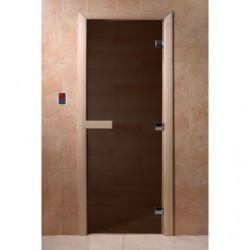Дверь для саун Черный жемчуг матовое 800 х 2000