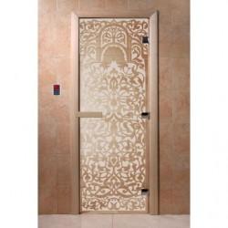 Дверь для саун Флоренция сатин 700 х 1900
