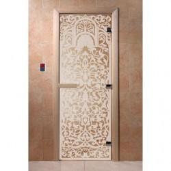 Дверь для саун Флоренция прозрачное 800 х 2000