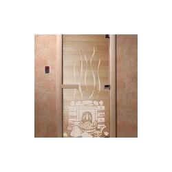 Дверь для саун «Банька» прзрачное 700х1900 мм