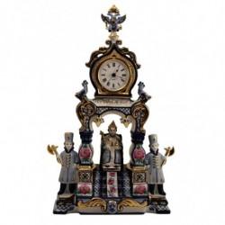"""Часы """"Царский трон"""" краски в золоте арт. 3/3505"""