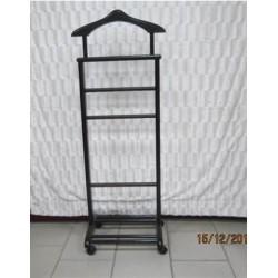 Вешалка для одежды одинарная на колесиках (наличие по звонку)