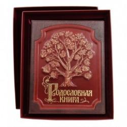Родословная книга в кож. обл. с росписью (в футляре) арт. РК-56