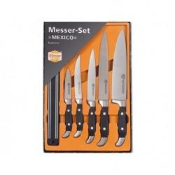 Mexico Набор 5 ножей + магнит 30 см