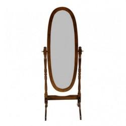 Зеркало напольное дерево орех (наличие по звонку)