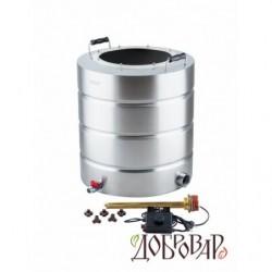 Бак 51 л с ТЭНом и регулятором мощности (без крышки) с горловиной 25 см, 8 шпилек