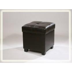 Банкетка ЭМ3 темный шоколад глянец