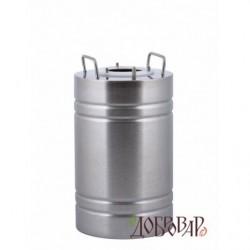 Бак универсальный 10 л с горловиной 8 см под 3 шпильки (без крышки)