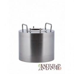 Бак универсальный 5л с горловиной 8 см под 3 шпильки (без крышки)