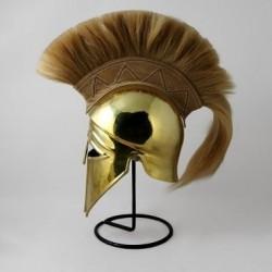 Шлем Коринфский с плюмажем