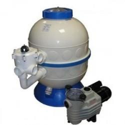Фильтровальная установка Kripsol Granada бок. подсоед. GLO606-100 (600мм, 14.5м3/ч)