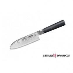Нож кухонный стальной Сантоку Samura Damascus SD-0092/G-10