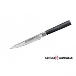 Нож кухонный стальной для томатов Samura Damascus/микарта SD-0071