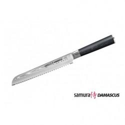 Нож кухонный стальной для хлеба Samura Damascus SD-0055/G-10