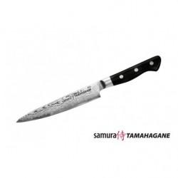 Нож кухонный стальной универсальный Samura Tamahagane ST-0023